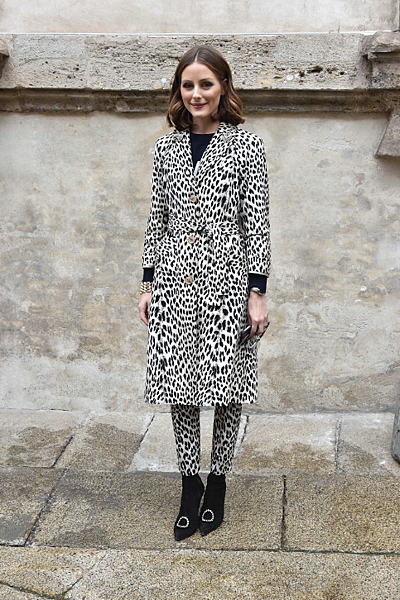 MAX&Co.品牌國際時尚大使OLIVIA PALERMO穿著最新新裝出席品牌2018秋冬系列米蘭大秀發表會3