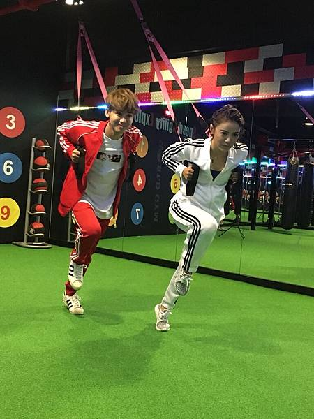 20180228丁噹在World Gym運動健身-2