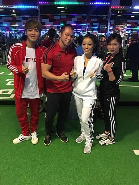 20180228丁噹在World Gym運動健身-3