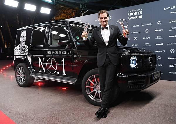 瑞士網球名將Roger Federer榮獲年度最佳男運動員與年度最佳回歸運動員獎,打破勞倫斯世界體育獎獲獎紀錄