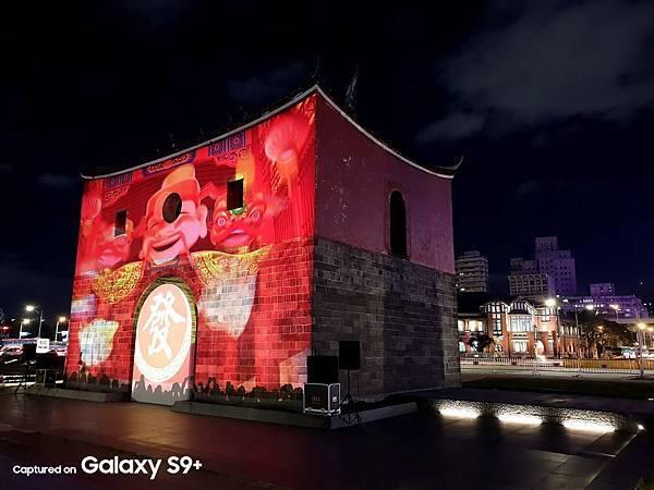 2018台北燈節-北門光雕2-國家地利雜誌攝影師 陳郁文攝