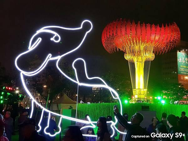 2018台北燈節-北門聖火-國家地利雜誌攝影師 陳郁文攝
