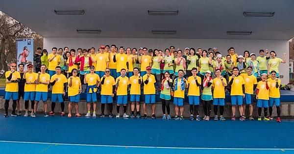 06-2018 PUMA螢光夜跑 跑者訓練營-台北站70名團員