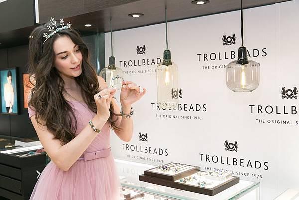 圖8_精靈女王瑞莎自行創作Trollbeads精靈珠