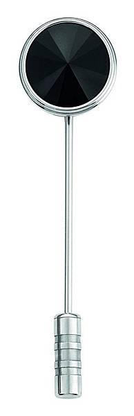 116639 萬寶龍匠心淬鍊系列精鋼與縞瑪瑙三環領帶別針,NT$6,900