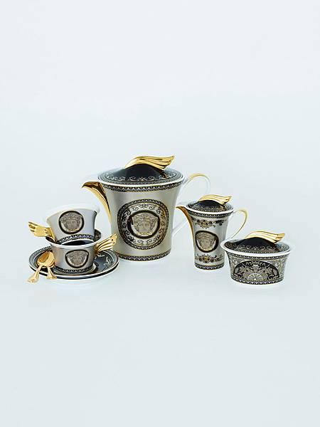 Versace Home歡慶與Rosenthal合作25週年推出全新紀念瓷器系列_Medusa Silver Collection_2