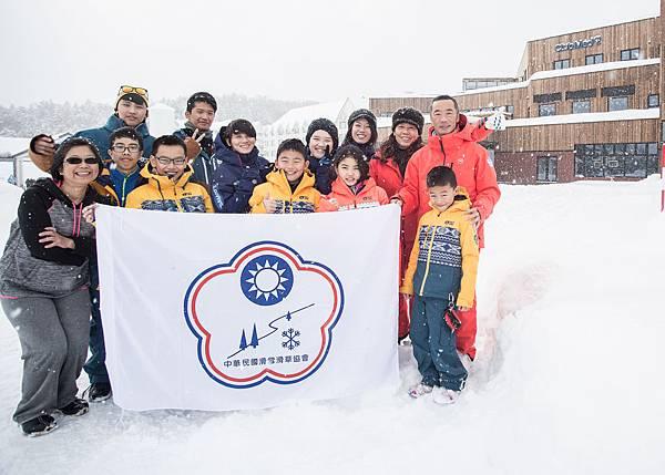 _03-Club Med與中華民國滑雪滑草協會首次合作訓練於Club Med日本北海道滑雪度假村Tomamu與Sahoro進行為期12天集訓。
