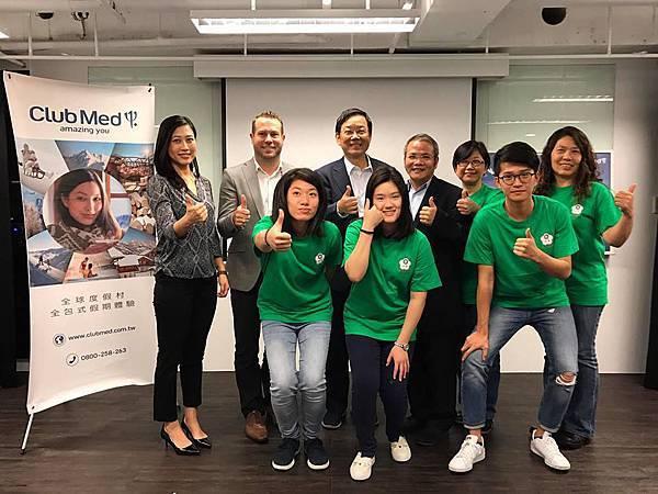 _12-Club Med與中華民國滑雪滑草協會正式宣布合作為期四年的滑雪菁英培訓計畫。