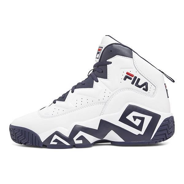 【FILA】MB復刻籃球鞋白兵版_建議售價NT$3,780