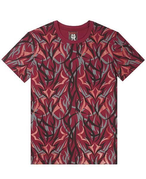 【新聞照片2】CLOT Red Alienegra Camo SS Tee