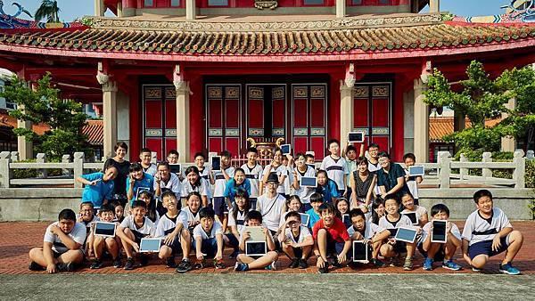 三星星美好美感教育邀請陳崇文至力行國小探索孔廟之美