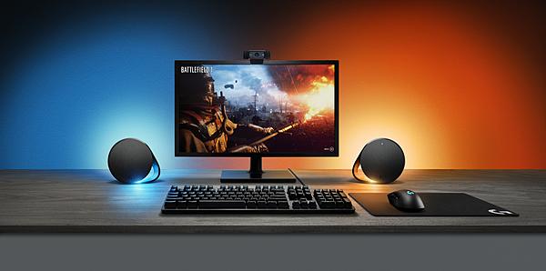 圖四:Logitech G G560 RGB電競喇叭,炫麗燈效與極致音效讓你爽度滿分、帥度爆錶!