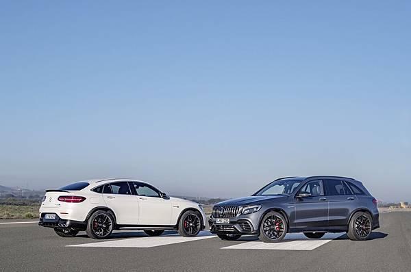 性能、優雅與時尚兼具 - 全新GLC 63 以雙生車款全面搶攻性能SUV車市 (配備以實車為準)