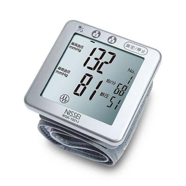 NISSEI日本精密手腕式血壓計WSK-1021J