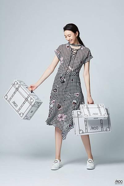 凱渥名模張敏紅展演iROO電商購物盒
