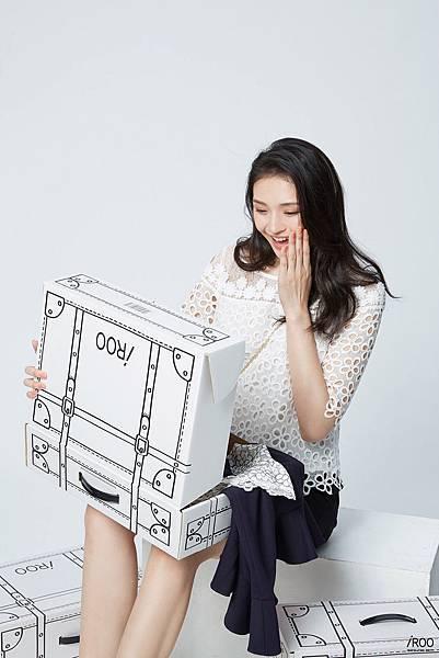 凱渥名模曾昕晨展演iROO電商購物盒2