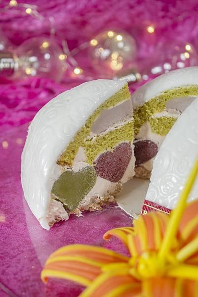翰品酒店花蓮「翰你相芋」母親節蛋糕-切片呈現隱藏的母愛