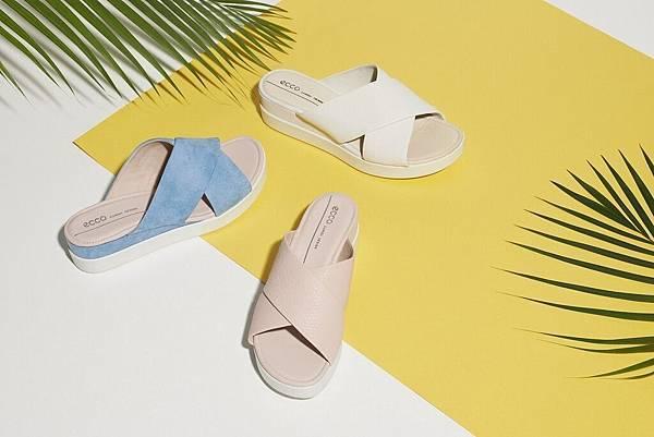 【新聞稿圖片3】ECCO推出清新風厚底涼鞋宣示夏日即將來臨