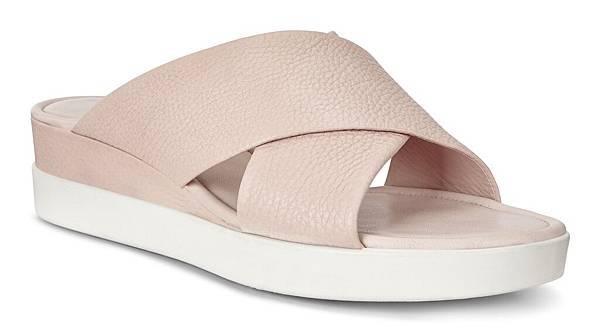 【新聞稿圖片6】ECCO TOUCH SANDAL PLATEAU女鞋_粉_售價$4,980