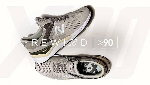 【New Balance】New Balance推出全新系列鞋款,以最具代表性的90年代鞋款,傳奇9系列為靈感設計