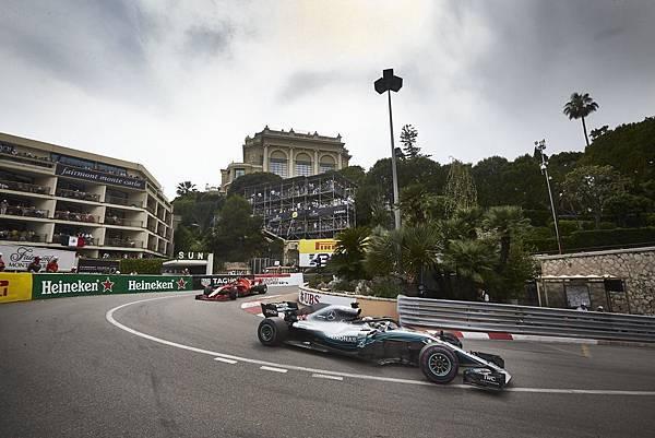 _2018年F1摩納哥正賽意外平靜,成為自2009年以來第一次沒有出動Safety Car的比賽