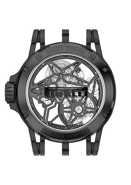 DBEX0669-Excalibur Spider Pirelli鏤空飛行陀飛輪,價值新台幣5,150,000元-3