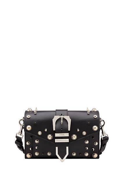 Versus Versace Buckle鉚釘裝飾牛皮方包 $24,500_2