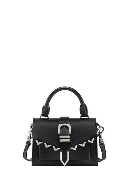 Versus Versace Buckle黑色牛皮提包 $23,500_2