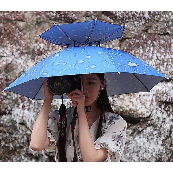 【新聞照片1】雙層超大傘帽