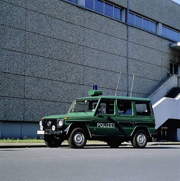 性能優異的G-Wagen能夠在任何地形上應付專業需求,成為軍警用車首選