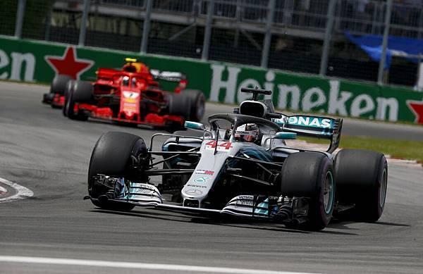 Mercedes-AMG Petronas Motorsport當家車手Lewis Hamilton曾於加拿大站獲得六次分站冠軍