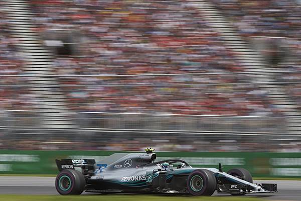 Mercedes-AMG Petronas Motorsport持續在F1車隊積分排行榜上獨領風騷