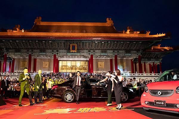於兩廳院藝文廣場舉辦的紅毯見面會是《蟻人與黃蜂女》電影世界首場宣傳