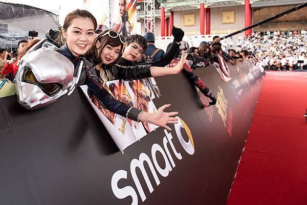 「蟻人」是近年最引人注目的漫威超級英雄,在台灣也擁有極高人氣,同時符合smart靈活有勁的特色