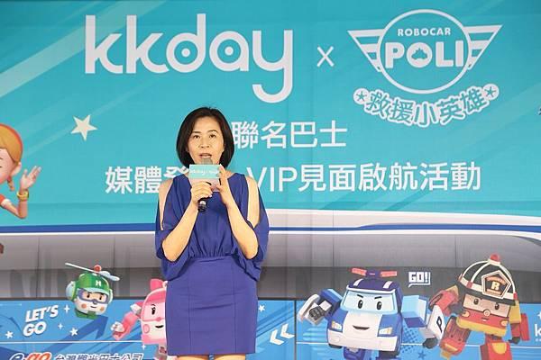 Poli救援小英雄台灣總代理 三貝德數位文創 品牌行銷處處長 戴勤敏