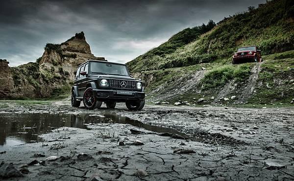 全新G-Class外觀融合經典元素與當代美學,車身尺碼放大並保有原有完美比例