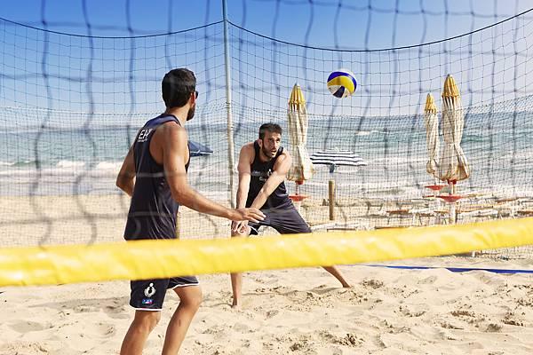 EA7 EMPORIO ARMANI_ BEACH VOLLEY_ Daniele Lupo e Paolo Nicolai