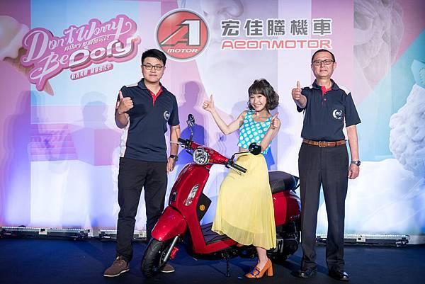 宏佳騰今天發表新車款,推出Dory 115 全方位車款
