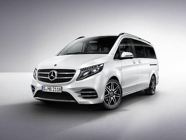 全新入門的V 220 d短軸車型,豐富配備提供舒適乘坐環境,堪稱豪華家庭移動入門首選