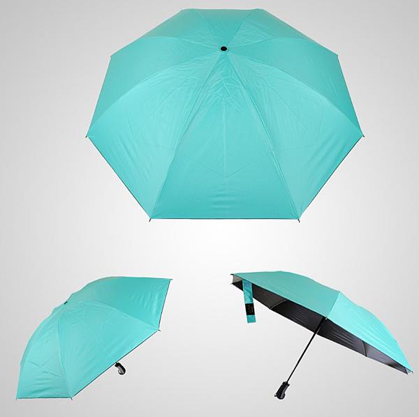 _【新聞照片5】自動反向黑膠摺疊晴雨傘