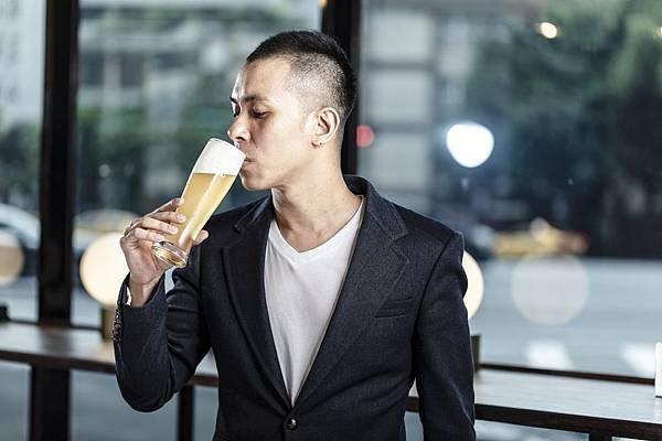 圖1.開場白白啤具有比利時白啤酒的輕盈感與豐富明亮的果香,讓人愛不釋口