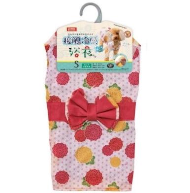 【新聞照片4】日本Marukan夏天狗貓浴衣