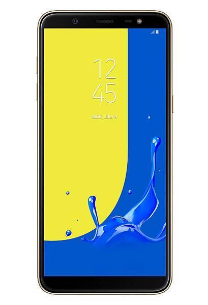 Galaxy J8 正面金色.jpg