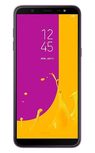Galaxy J8 正面紫色.jpg