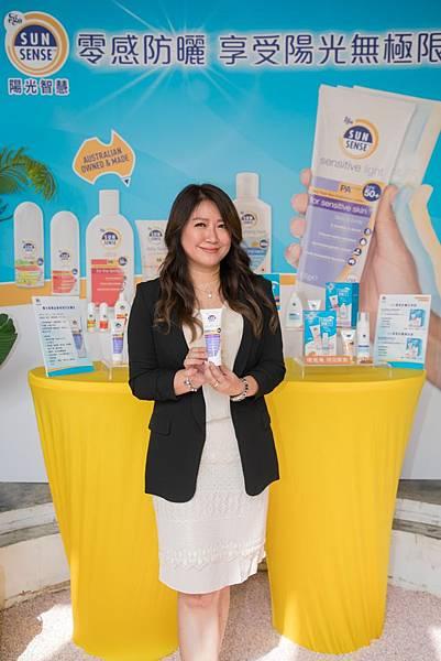 _【新聞照1】澳洲意高大藥廠台灣分公司總經理趙玉煇表示,QV陽光智慧防曬全系列產品經過皮膚科、小兒科醫師測試,成份不刺激肌膚,適合敏弱肌及6個月以上嬰幼兒使用。.jpg