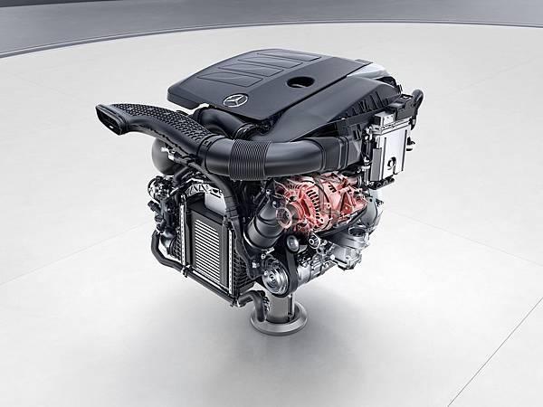 EQ Boost科技旗下的M264 48V驅動式啟動馬達 (BSG) 動力系統將率先於The new C-Class首波導入的C 200車型上搭載.jpg