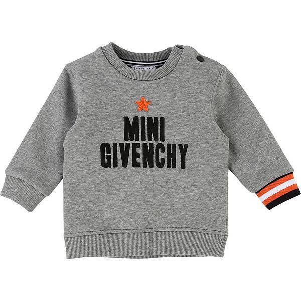 GIVENCHY Kids_MINI GIVENCHY長袖上衣(灰)_$8,450 (1).jpg