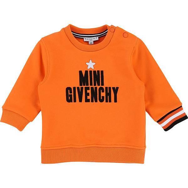 GIVENCHY Kids_MINI GIVENCHY長袖上衣(橘)_$8,450 (1).jpg