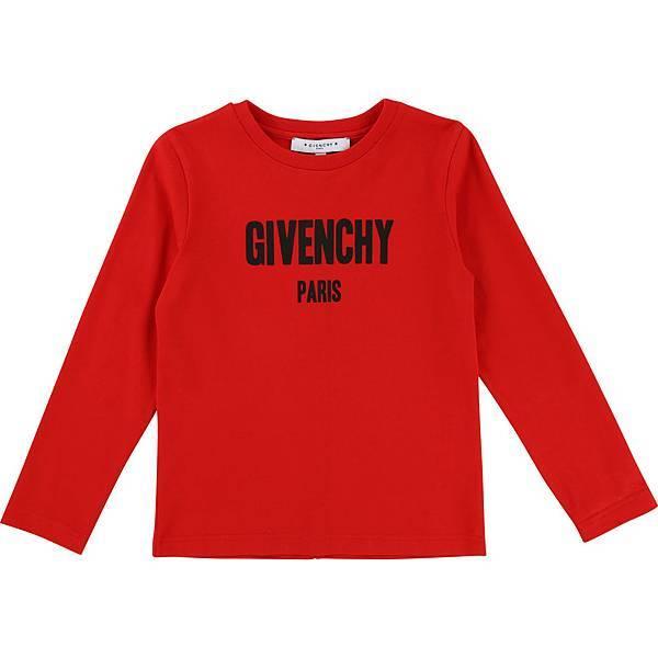 GIVENCHY Kids_經典LOGO長袖上衣(紅)_$7,050 (1).jpg