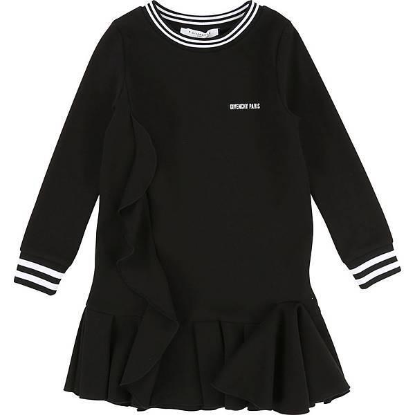 GIVENCHY Kids_經典LOGO黑色洋裝_價格未定 (1).jpg
